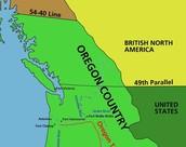 1827 - US and UK occupy Oregon