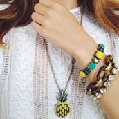 Pineapples are so on trend and so adorable!