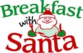 Breakfast with Santa Fundraiser on Saturday, December 13th