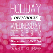 HOLIDAY OPEN HOUSE, Wednesday, Dec. 2