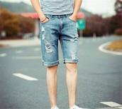 los jeans pantalones cortos