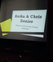 Beginning of the presentation