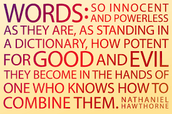 Words Are influential