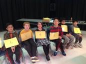Participantes del Concurso de Ortografía