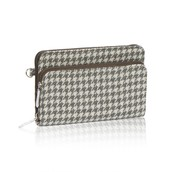 Perfect Cents Wallet - Grey Houndstooth
