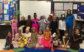 Mrs. Pullen's Kinder students ready for the Circus!