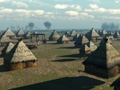 plains indians village