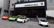 Lamborghini Seoul Showroom