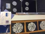 Snowflakes inspired by Snowflake Bentley!