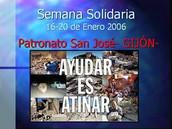 Semana solidaria del PSJ.