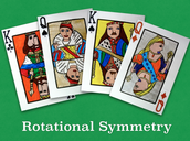 134. Rotational Symmetry Playing Cards