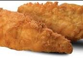 Dos las tiras de pollo - 2 chicken strips $2.50