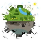 What energy resources are renewable and which ones are nonrenewable?