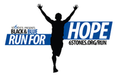 Black and Blue Run For Hope