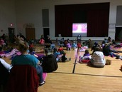 Eugene Field hosts PTO Movie night