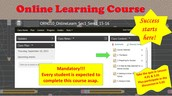 Have YOU completed your Online Learning Course?