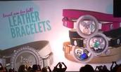 LEATHER bracelets!!