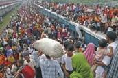 Population in Bangladesh