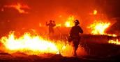 Wildfires spread quickely