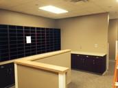 The office/copy area