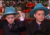 Danny Kefee on famous Ellen show
