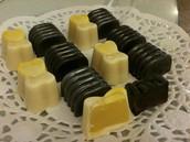 שוקולד - פרלינים בטעמים שונים