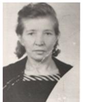Степанова Елизавета Павловна
