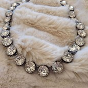 Vintage crystal necklace £37.50 RRP £75
