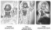 Zeus, Poseidon, and Hades