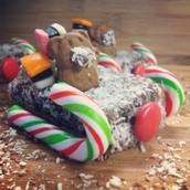 Tiny Teddy sleigh