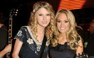 Taylor Swift and Carrie Underwood