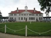 George Washingtons houses on the plantation
