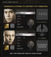 District 5 Tributes