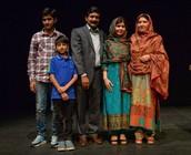 Malala's family.