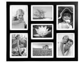 1) Black Picture Frames