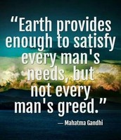By: Mahatma Ghandi