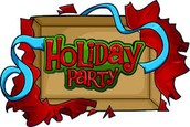 Holiday Party 12/21 12:30-2:00