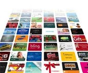 GET FREE GIFT CARDS FOR BEING AN ACTIVE MEMBER OF OUR PROGRAM