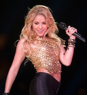 """Shakira is also know for hits like """"Whenever, Wherever"""" , and """"Hips Don't Lie."""""""