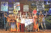 Hippies Protesting