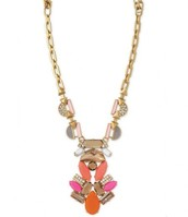 POP GEO PENDANT NECKLACE N472G - $66.75