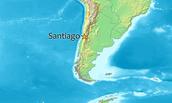 Santiago's Location