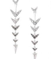Arrow Drop 2-in-1 Earrings