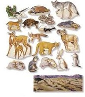 Theres are animals from the desert.