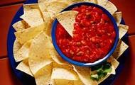salsa y chips