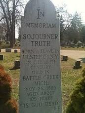 Grave of Sojourner Truth