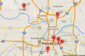 Hotline areas in Kansas City
