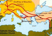 First Crusade Map