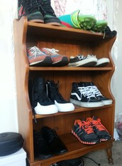 My shoes in shoe box