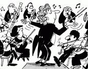 Me gustan mucho la musica la classica.